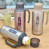 日本泰福高 304不锈钢保温开水瓶 1.6L 券后69元包邮(京东179元)