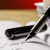 开学必备!Parker 派克 威雅胶杆黑色墨水钢笔0.5mm