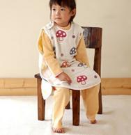 日本 Hoppetta 六层纱布大号蘑菇睡袋