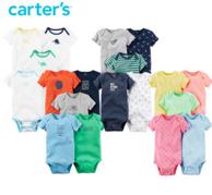 Carter's 短袖连体衣三角哈衣 5件装