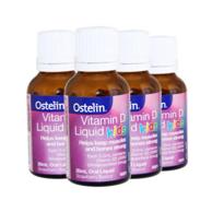Ostelin 婴儿童液体维生素D滴剂 20ml*4