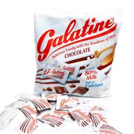白菜价!意大利进口 Galatine 佳乐锭 阿拉丁巧克力味牛奶片 100g*10