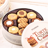 3.6万好评!日本进口,Bourbon  曲奇饼干 60枚礼盒装