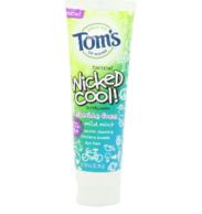 第10波团购结束!Tom's of Maine 无氟儿童牙膏119g*6支