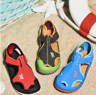 历史最低!木木屋 软底防滑儿童凉鞋 多色可选 券后39.9元包邮(京东59.9元)