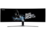 新品预售:SAMSUNG三星 C49HG90DMC 48.9英寸 电竞曲面显示屏(3840*1080、QLED量子点、144Hz) 14999元(预售定金50元)