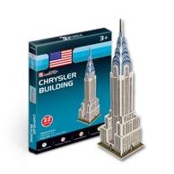 Prime会员:CubicFun 乐立方 3D立体拼图玩具 迷你建筑系列 3件 20.79元包邮(京东12元一件)