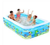 诺澳 儿童充气游泳池 39元包邮 已降10元 赠送海洋球50个