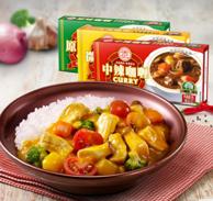 安记 速食咖喱3种口味组合 100g*3盒