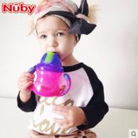 Nuby 努比 宝宝双耳防漏吸管杯