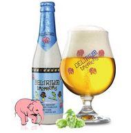 传说中的失身酒!比利时进口,Delirium浅粉象精酿啤酒 组合装 330ml*6瓶*2件
