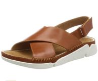 Clarks 其乐 Tri Alexia 女士三瓣底真皮凉鞋 直邮到手约341元(国内799元)