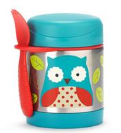 SKIP HOP 可爱动物园系列 儿童绝热饭盒和叉勺套装 凑单直邮到手约82元(其余款式239元)