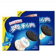 奥利奥 缤纷果味夹心饼干 388g*2盒*3件 多种口味随机发货
