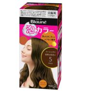 销量第一,KAO 花王 Blaune泡沫染发剂 5# 深棕色 prime会员凑单到手约51元