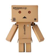 日亚限定版!KAIYODO海洋堂阿楞纸箱人玩具公仔13cm+mini款阿楞 凑单直邮到手约178元