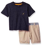 Prime会员:Nautica诺帝卡 男款童装2件套 12个月 凑单免费直邮到手¥82