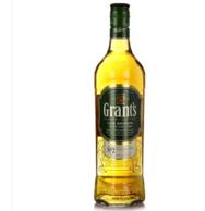 入门威士忌!Grant's 格兰 雪利珍藏威士忌 700ml *2件 折后124.2元折合62.1元/瓶(天猫109元/瓶)
