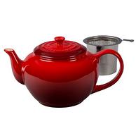 Prime会员: Le Creuset 茶水壶 樱桃色 1.1L