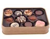 小神价!马来西亚进口 Beryl's 什锦多口味巧克力 铁盒装*2