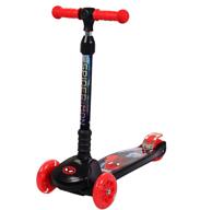 中亞銷量第1!漫威 迪士尼 折疊閃光輪一秒折疊滑板車
