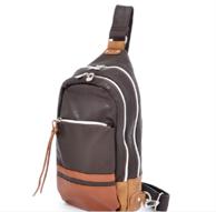 日本潮流街包,anello AT-25152 合成皮单肩斜背包