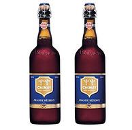 最好喝的啤酒之一!Chimay智美 蓝帽 比利时修道士啤酒 750ml*2瓶