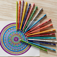 Prime会员:Prismacolor 三福霹雳马软芯彩色铅笔 132色