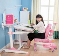 心家宜 M106-M200 儿童气压辅助升降学习桌椅套装