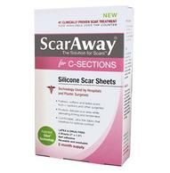 ScarAway 剖腹产疤痕专用治疗带 4片装 19.25美元约¥128