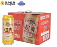 SUNTORY三得利 超爽啤酒 500ml*12听 *3件 83元包邮(京东144元)