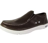 Crocs 男士皮质乐福鞋 棕黑两色可选