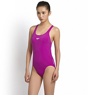 SPEEDO速比涛 Essential ENDURANCE+ Medalist 女式连体泳衣 99元包邮(天猫类似款200+)