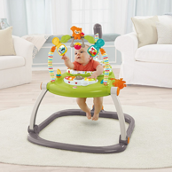 Prime会员:Fisher-Price 费雪 SpaceSave 蹦跳欢乐园