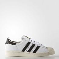 2双!Adidas阿迪达斯 Superstar 80s 男士贝壳头板鞋