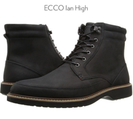 ECCO 爱步 伊恩系列 男士真皮短靴