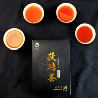 消食刮油!怡清源 荷香金花黑茶 茯砖茶 350g 券后19.9元包邮
