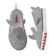 GYMBOREE 金宝贝 Shark 鲨鱼造型儿童帆布鞋 8.99美元约¥60(原价32.95美元)