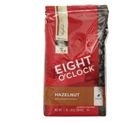 Prime会员:Eight O'Clock八点钟hazelnut榛子全豆咖啡 311.84g*6袋 直邮到手约296.45元