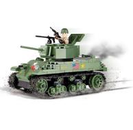 Cobi Small Army系列 M5A1 Stuart VI 斯图亚特6型坦克