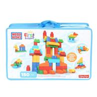 MEGA 美高 益智拼插积木玩具 超值大袋装150片 CNM43