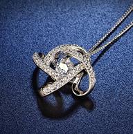 Sable 舞动系列 多边形锆石钻石项链