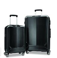 Samsonite 新秀麗 Duraflex 輕便硬殼仿碳纖維行李箱套裝 20寸+28寸 碳色