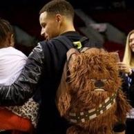 Prime会员:Star Wars 星球大战 Chewbacca 造型儿童背包