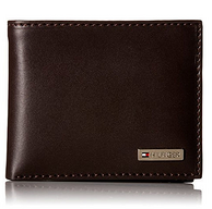 Tommy Hilfiger  Passcase Bifold 男士皮质钱包 15.1美元约¥99
