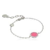 Marc Jacobs 马克雅可布 粉色珐琅手链