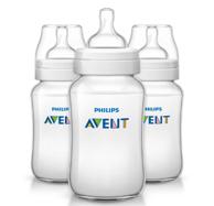 Philips AVENT 新安怡 经典宽口径防胀气奶瓶330ml*3只