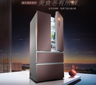 风冷保鲜!Haier 海尔BCD-550WDEYU1 550L冰箱