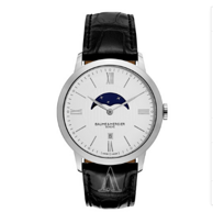 Baume and Mercier Classima Executives 系列月相时装男表