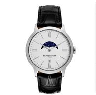 Baume and Mercier Classima Executives 系列月相时装男表 749美元约¥4918(国内报价12900元)